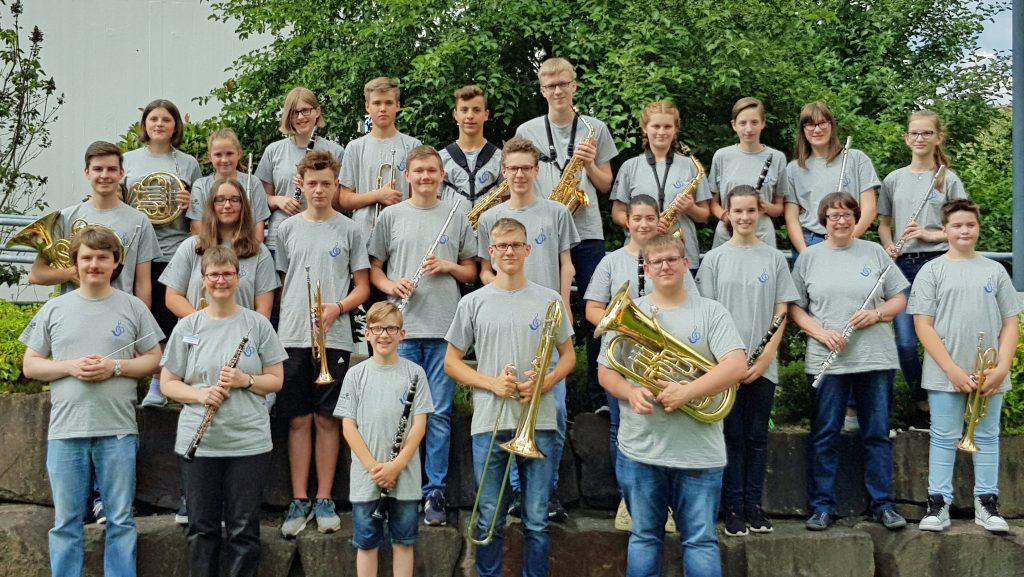 Das Jugendorchester am 16.06.2018
